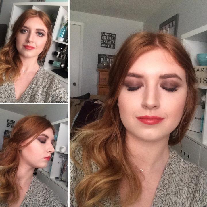 Holiday Glam MakeupLook