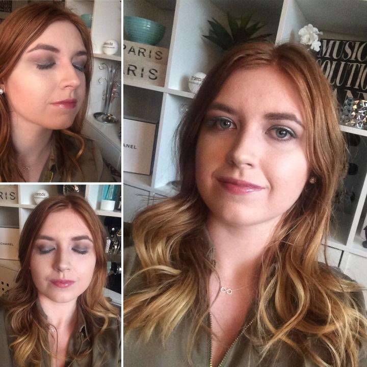 Sliver Makeup look
