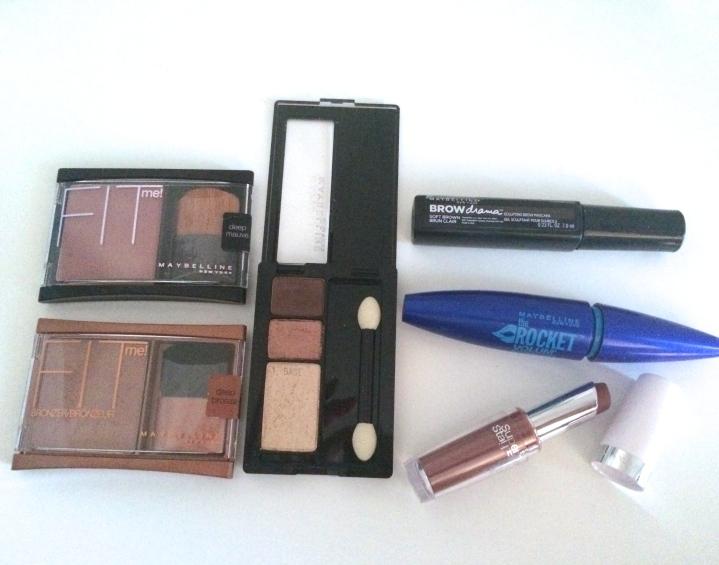 Maybelline Makeup Look