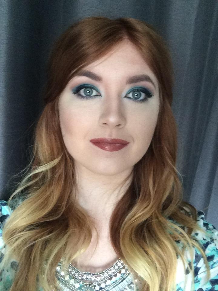 Blue on Blue MakeupLook