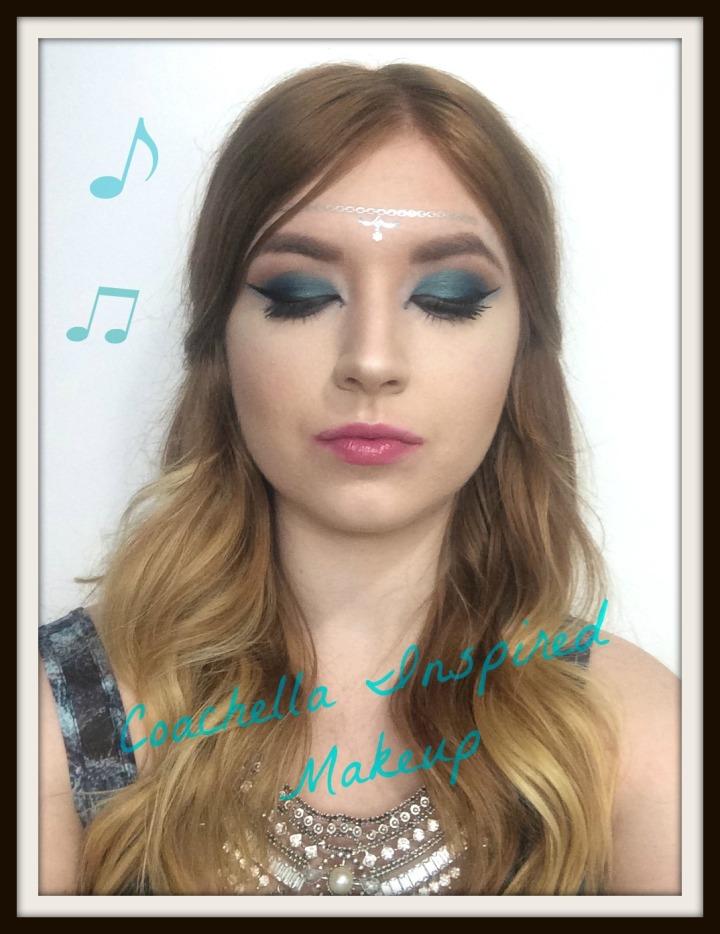 Coachella Inspired MakeupLook