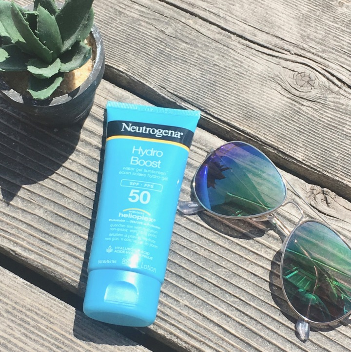 Neutrogena Hydro Boost 50 SPF SunScreen Review