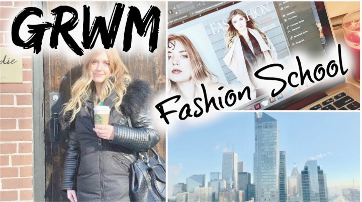 GRWM Fashion Student life…