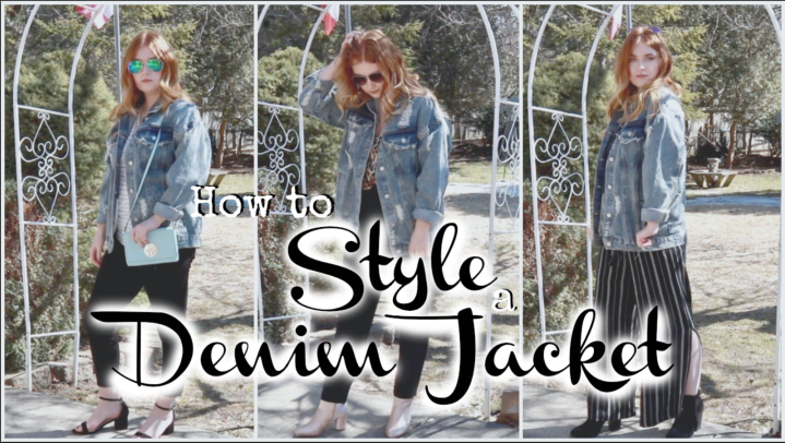 How I style DenimJackets