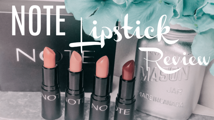 Note Beauty|Lip Products Review|