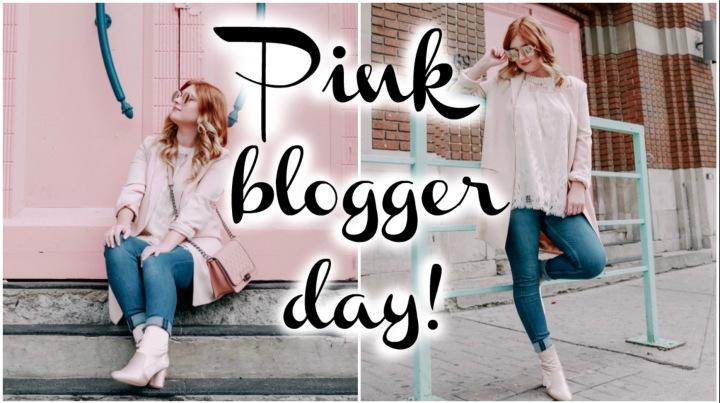 Pink Blogger Day|TaylorTalks