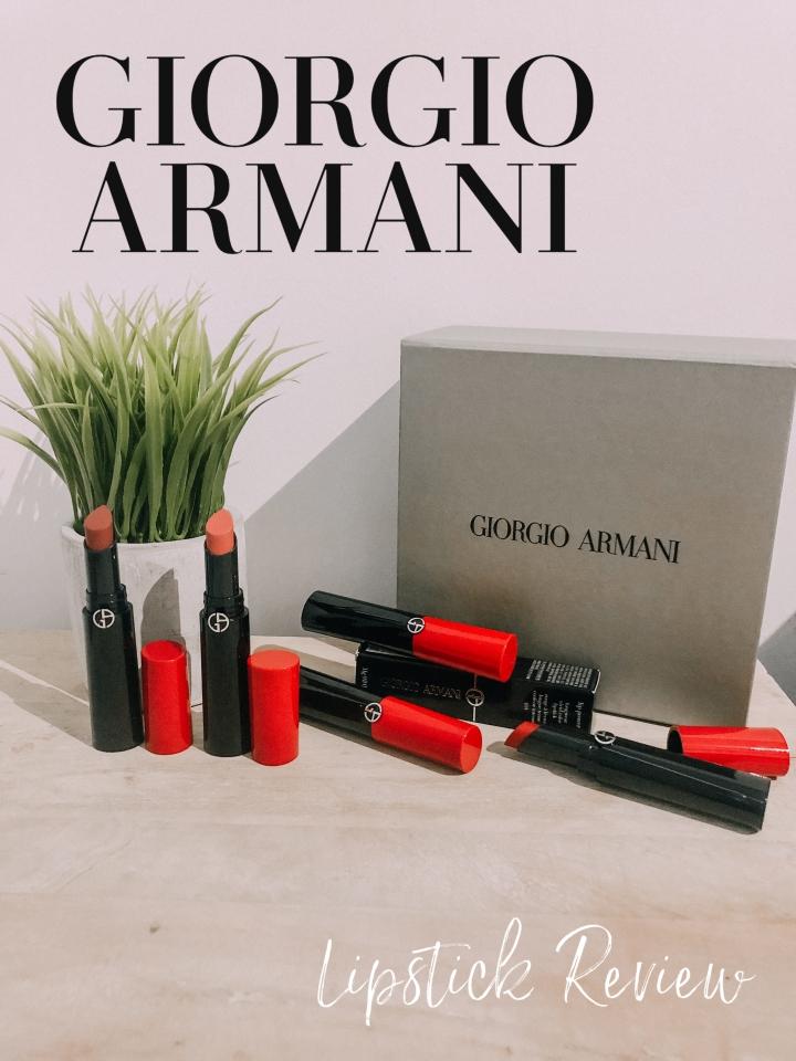 Giorgio Armani Lip Power Lipstick |Review|